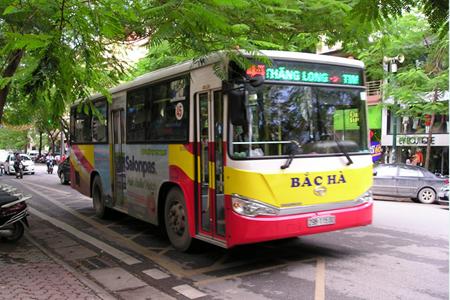Hanoi Bus - Vietnam Vacation