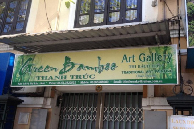 Green Bamboo Art Gallery