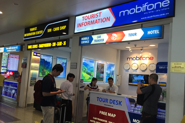 It is recommended to buy SIM card in the airport