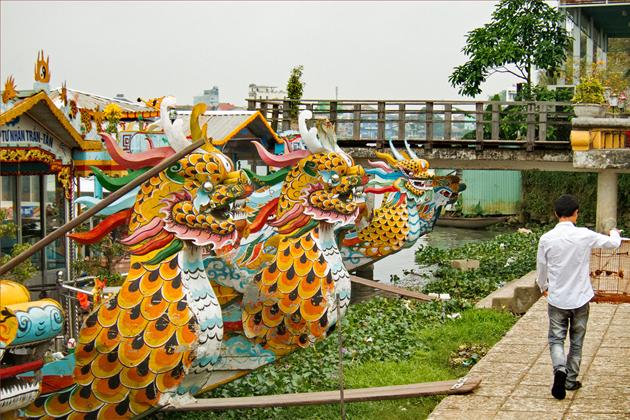 Dragon boat harbor