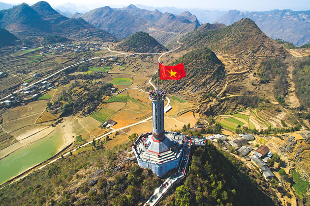 Lung Cu Flag Tower Ha Giang