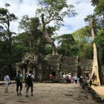 The ruins of Ta Prohm Temple