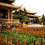 truc lam zen monastery in dalat