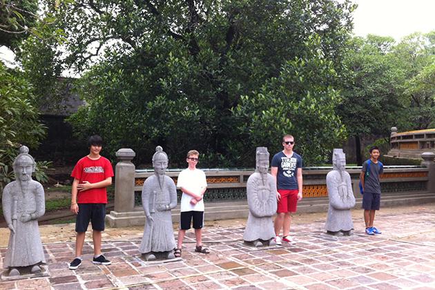 School trip in Hue