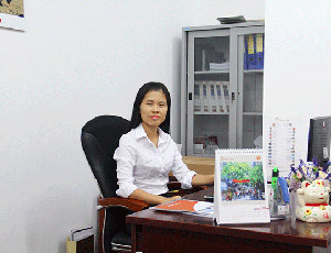 Huyen Tran (Mrs.) – Sale Manager of Domestic Market