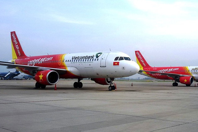 Vietjet air is one of the cheapest airlines in Vietnam
