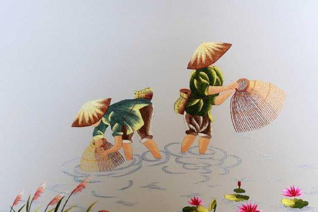 Vietnamese Embroidery vietnam souvenirs