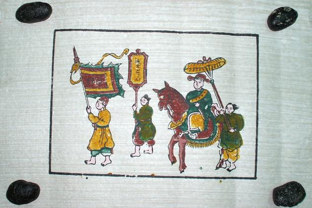 dong ho painting vietnam souvenirs