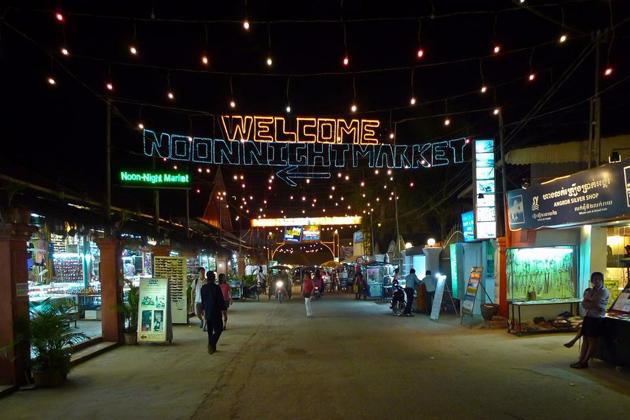 Noon Night Market Siem Reap