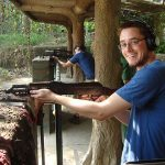 Cu Chi tunnel Gun shooting