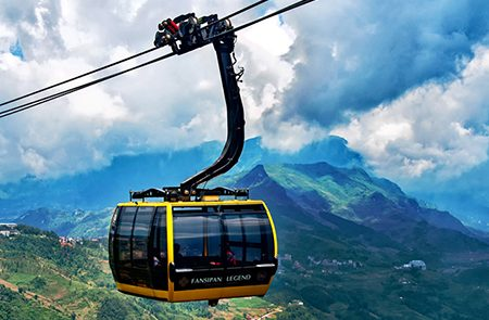 Guide For Fansipan Cable Car Trip in Sapa