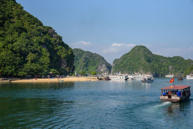 halong bay is a must visit attraction in vietnam
