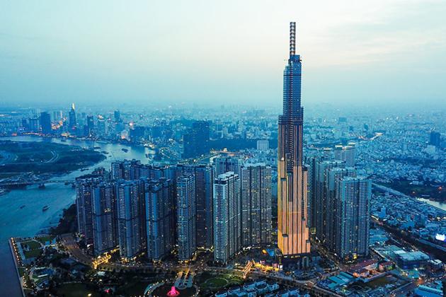 landmark 81 the tallest buidling in vietnam