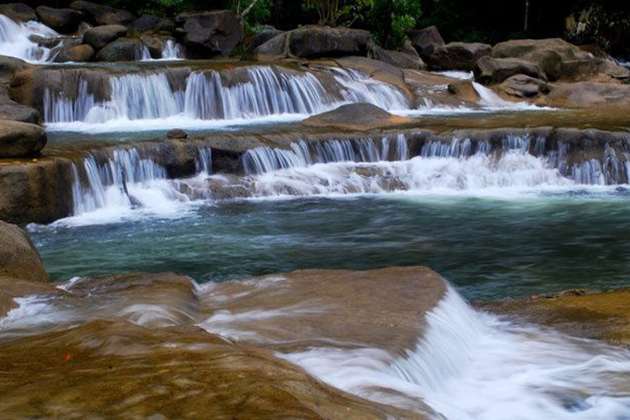 Ba Ho Waterfall in Nha Trang