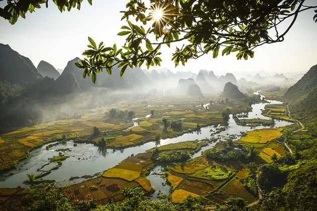 Cao Bang Geopark UNESCO