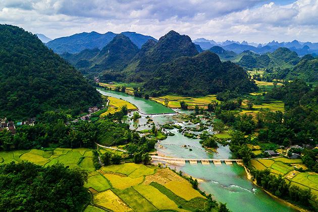 Cao Bang Geopark Vietnam