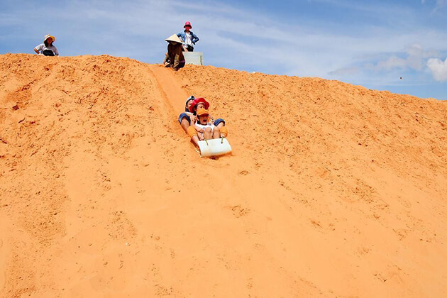 mui ne sand dune vietnam family tour in 2 weeks