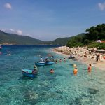 nha trang family holiday on beach