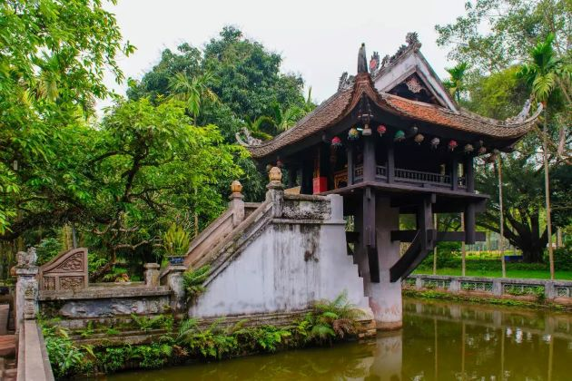 one pillar pagoda is a must see attraction in hanoi vietnam in 21 days