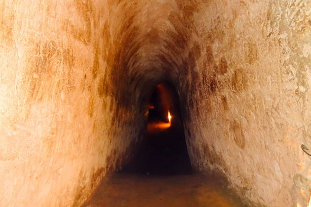 the mysterious cu chi tunnels in saigon