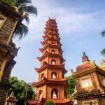 tran quoc pagoda the scared pagoda in hanoi
