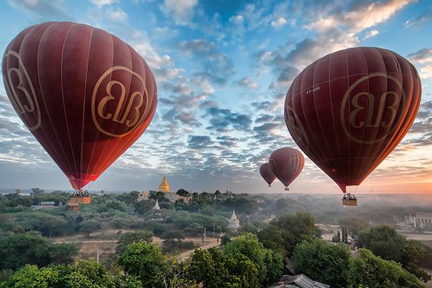 Best time to visit Bagan is between november to april