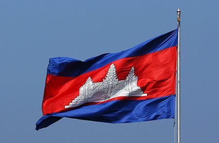 Cambodia National Flag   History & Meaning of 10 Cambodian Flags