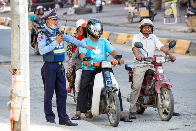 Cambodia Traffic Police