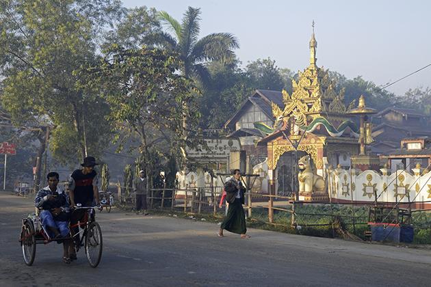 Dala town Yangon