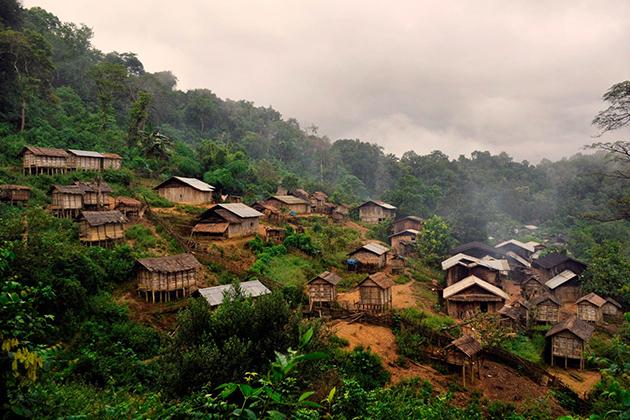 Muang Khua Northern Laos