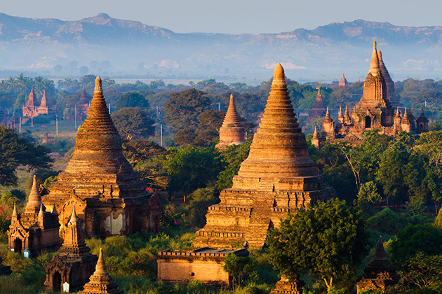 Find The Peaceful Temples Of Bagan
