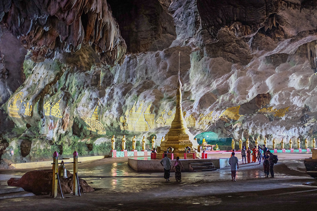 Hpa An Majestic Cave