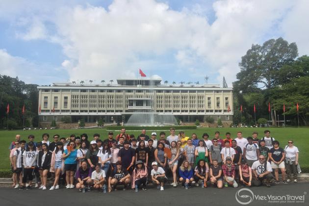 Independence Palace vietnam study tour