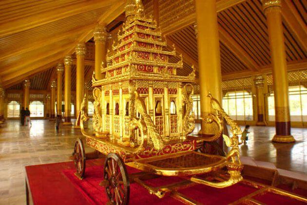 Kanbawzathadi Palace in Myanmar