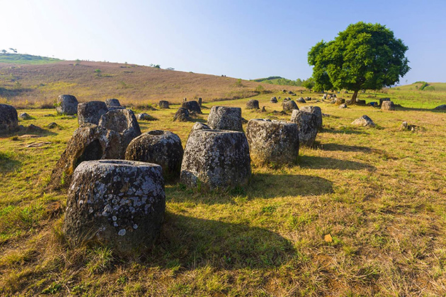 Laos Plain of Jars