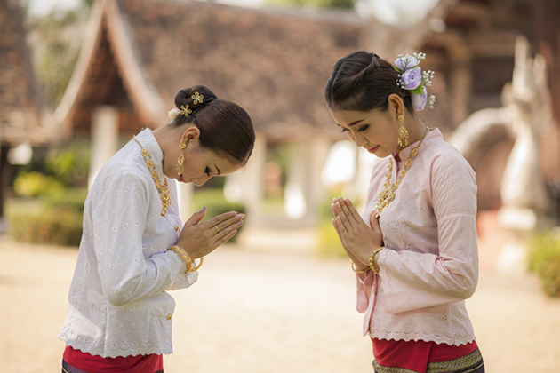 Laos greetings and etiquette