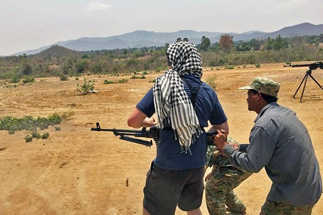 Military Firing Ground Siem Reap