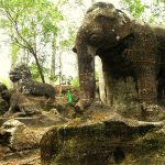 Mysterious Beauty of National Parks Kulen Mountains, Cambodia