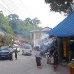 Pak Beng town Laos