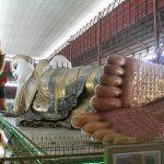 Reclining Buddha at Chauk Htat Gyi