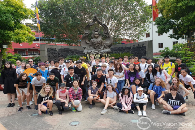 Saigon City Tour vietnam study tour 5 days