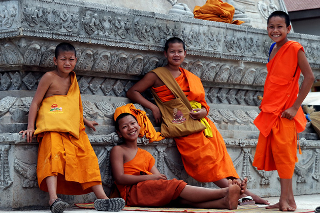 Tips for travel Laos traditional customs