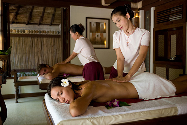 Traditional Lao massage