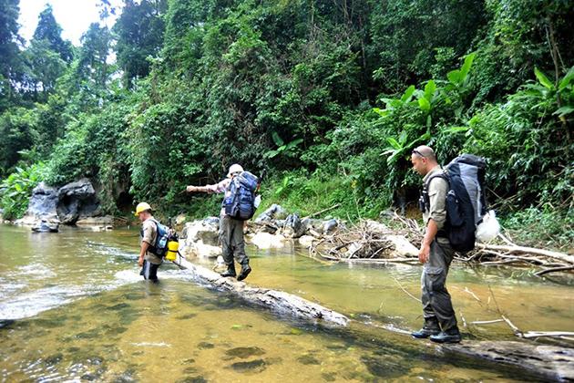 Trekking through Phong Nha Ke Bang Quang Binh