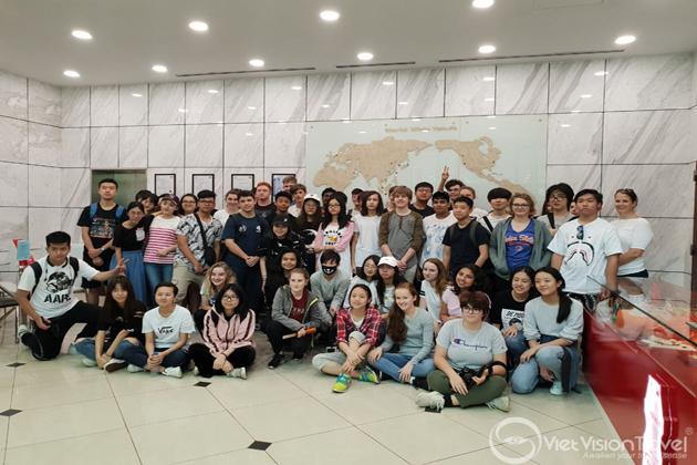 War Remnants Museum vietnam study tour