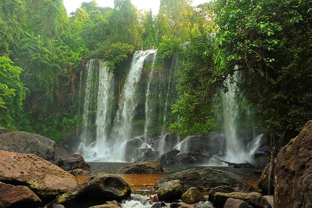 Waterfall inside Kulen Mountains