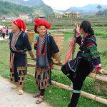 Y Linh Ho village with ethnic minorities