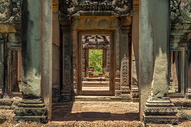 angkor wat admission gate in siem reap cambodiaangkor wat admission gate in siem reap cambodia