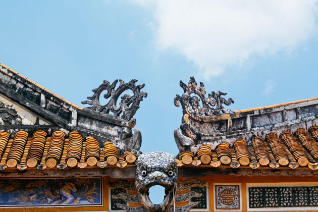 architecture of hue forbidden purple city