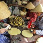 banana cake in mekong delta